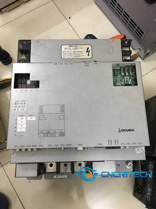 Sửa chữa bộ điều khiển Servo cho máy tiện CNC Okuma