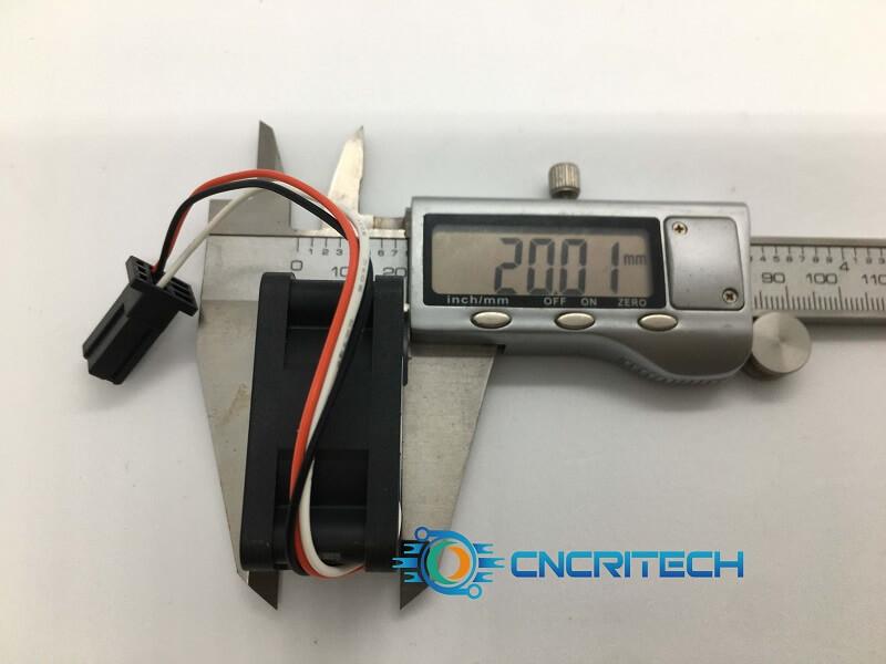 Quạt NMB 1608KL-05W-B39 độ dày