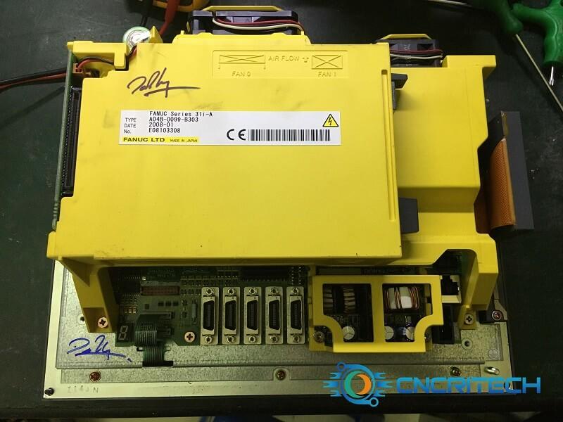 Lỗi màn hình máy khoan CNC Fanuc Robodrill α - T14iFe