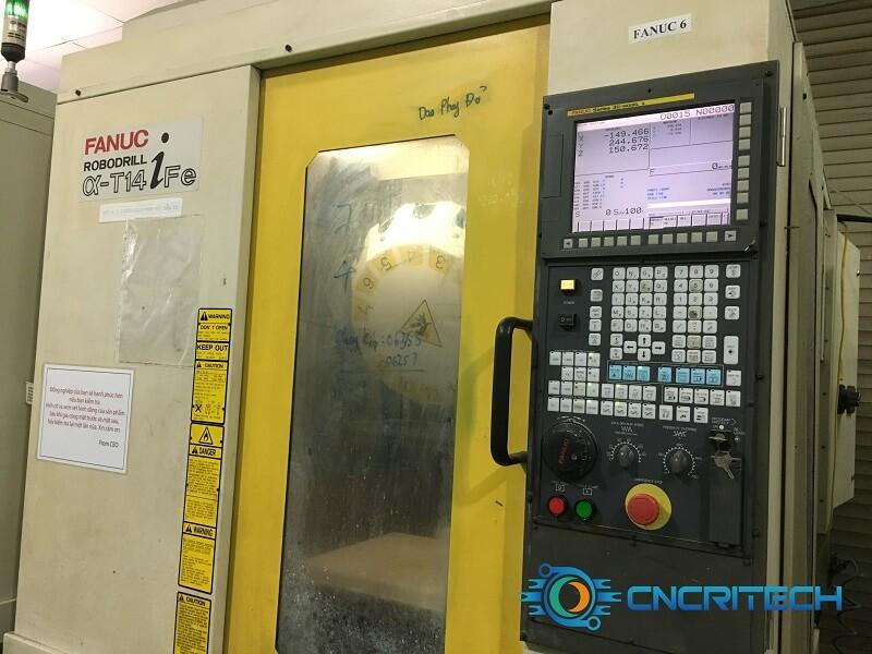 Sửa chữa máy khoan CNC Fanuc Robodrill α - T14iFe