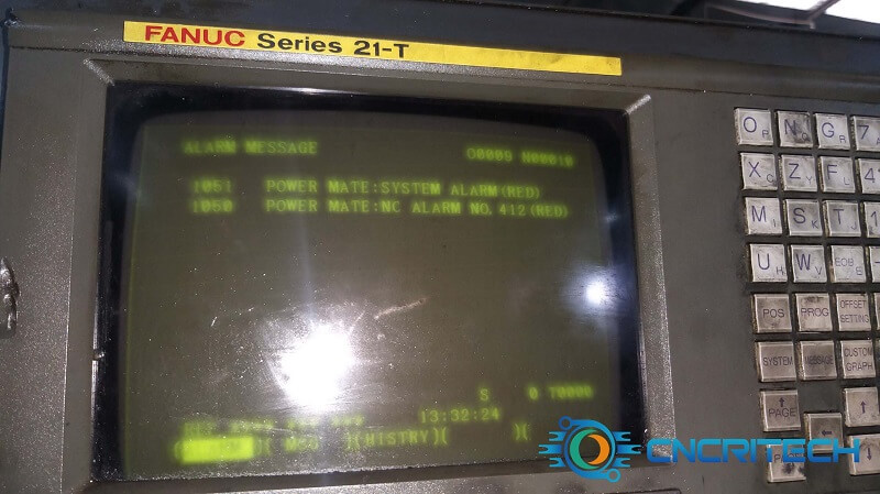 Màn hình báo lỗi máy tiền CNC Star SH-12