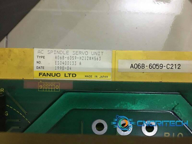 Model A06B-6059-H212#H563