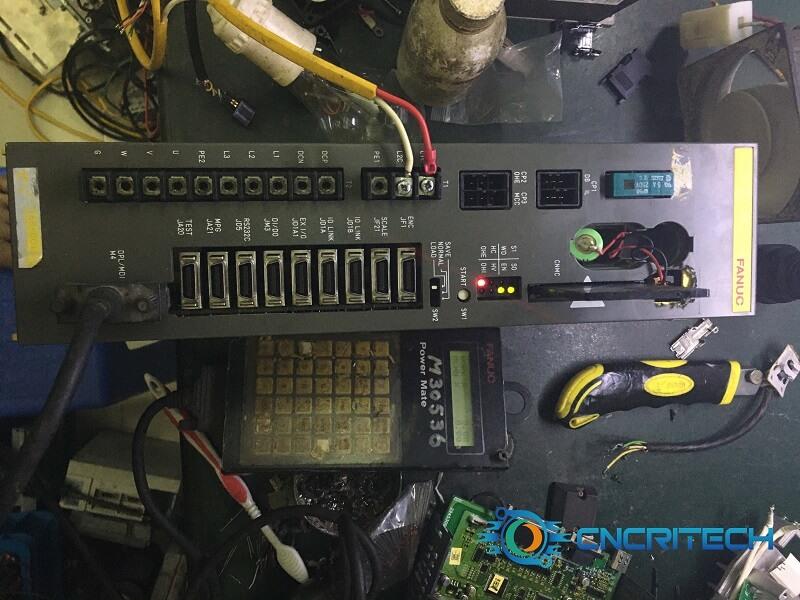 Sửa chữa bộ Servo power mate của máy CNC Star