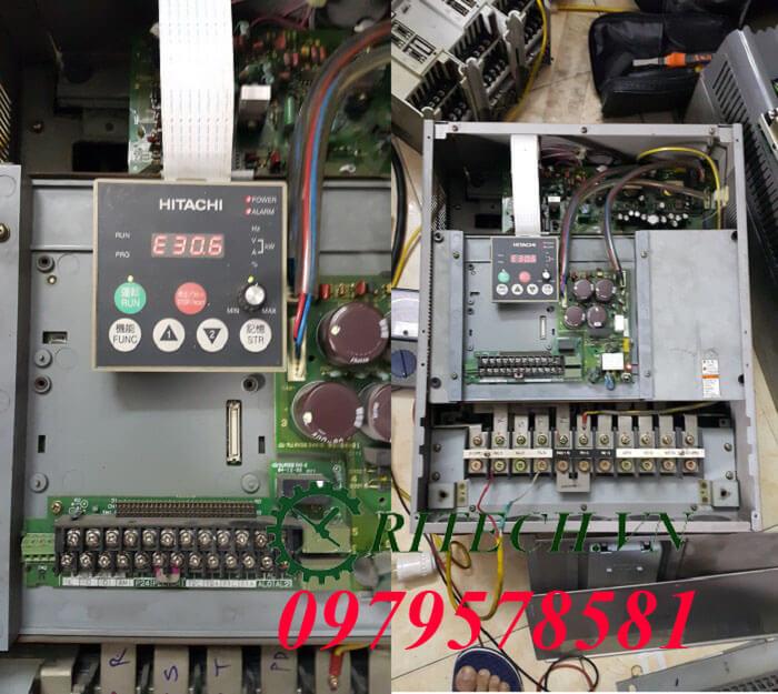 sửa chữa biến tần Hitachi lỗi E23.0