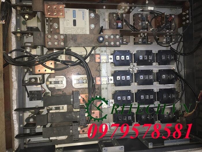 sửa chữa biến tần mitsubishi a700 220kw
