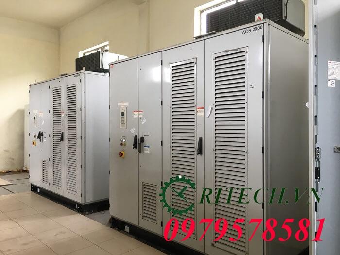 Hình ảnh sửa chữa biến tần trung thế ABB ACS2000