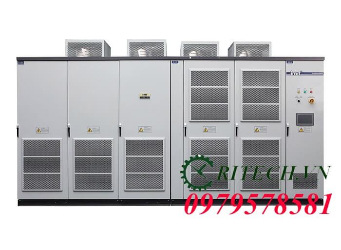 Hình ảnh sửa chữa biến tần trung thế INVT GD5000