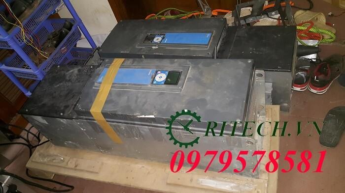 sửa chữa biến tần Vacon 100 HVAC 75kw cho khách hàng tại Bình Định