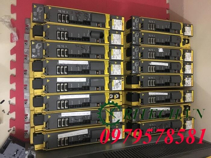 Hình ảnh sửa chữa Servo Amplifier Fanuc số lượng lớn tại nhà máy công ty Nhật