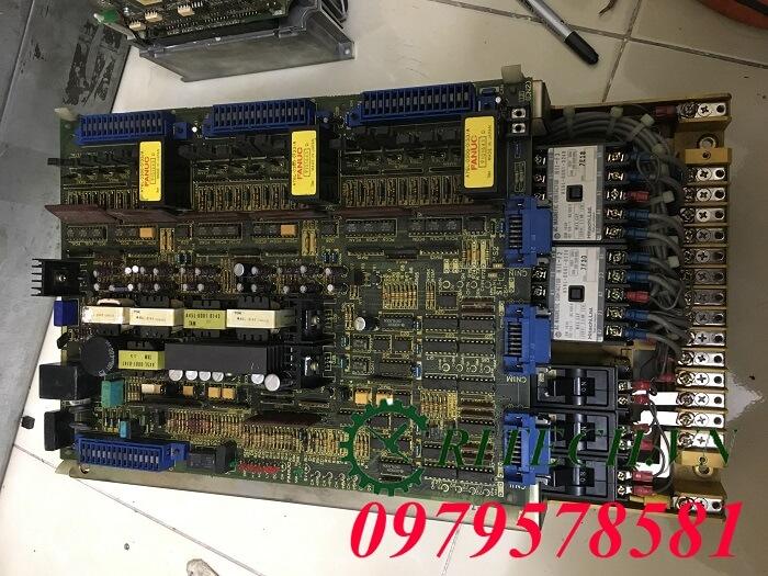 Hình ảnh sửa chữa bộ Servo Amplifier Fanuc 3 trục A06B-6058-H302 bị lỗi HC