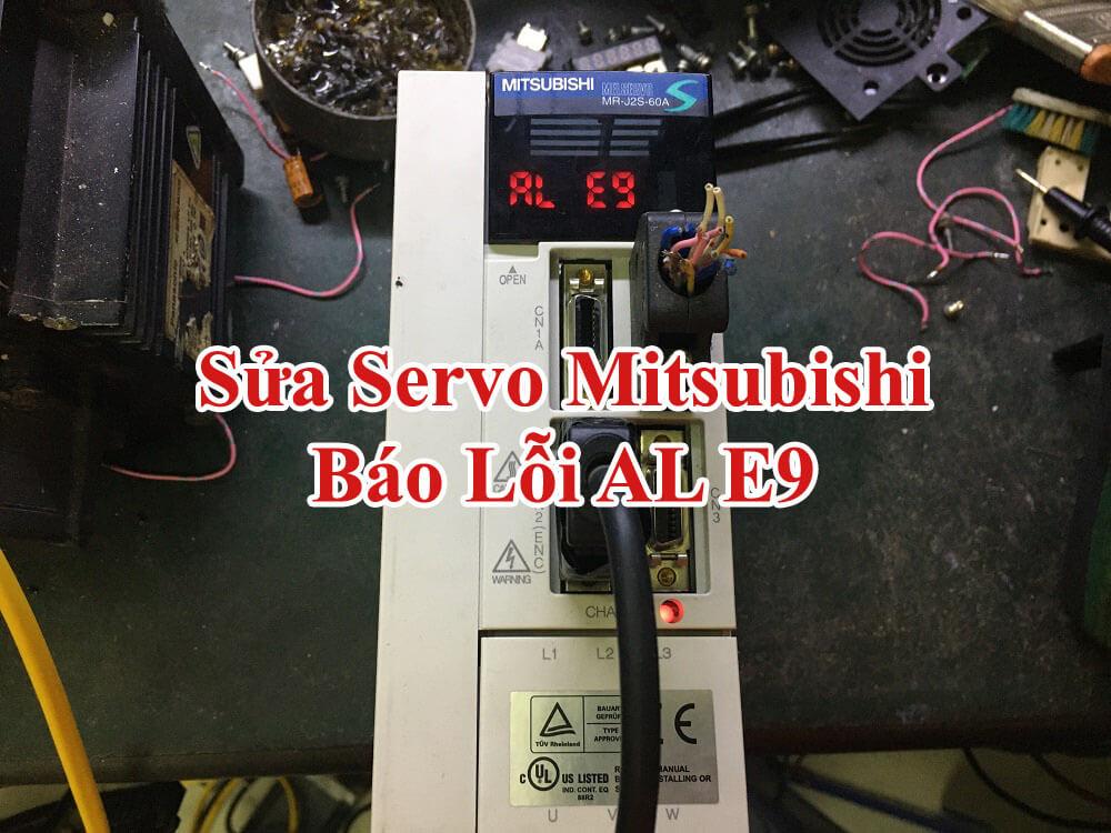 Sửa servo Mitsubishi lỗi E9